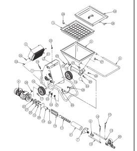 Pièces détachées machine à projeter SMALL 50 IMER  2008