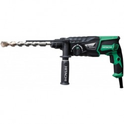 Perfo-burineur DH26PC, 26 mm SDS + 830 W - 3,2 Joules - 2,8 Kg HITACHI
