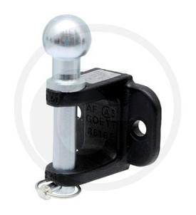 Crochet d'attelage à attache boules Système K50 fixation 4 trous