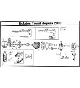 Pièces détachées treuils ALTRAD depuis 2000