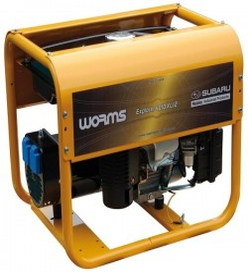 Groupe électrogène Explorer 4010 XL 12 AVR  230V   3.3kW  4.1kVA Essence Worms Robin Subaru IMER