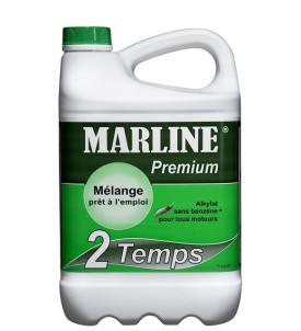 Carburant-Alkylat pour moteur 2 Temps Marline Premium