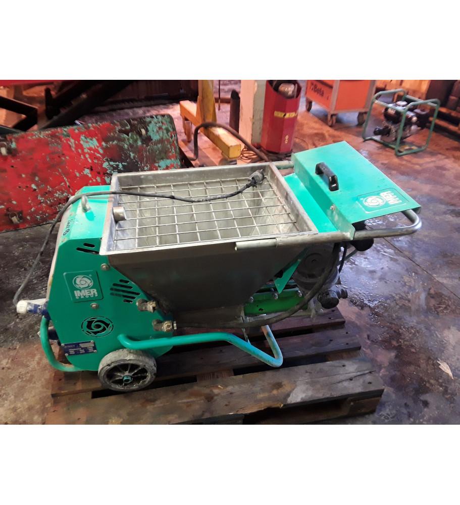 OCCASION Machine à projeter small 50, Traditionnel ou mono-couche, IMER