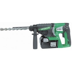 Perforateur à batterie DH25DL, 26 mm SDS + 25,2 V - 3,5 Kg HITACHI