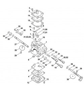 Pièces détachées pour carburateur de découpeuse à disque STIHL TS 400