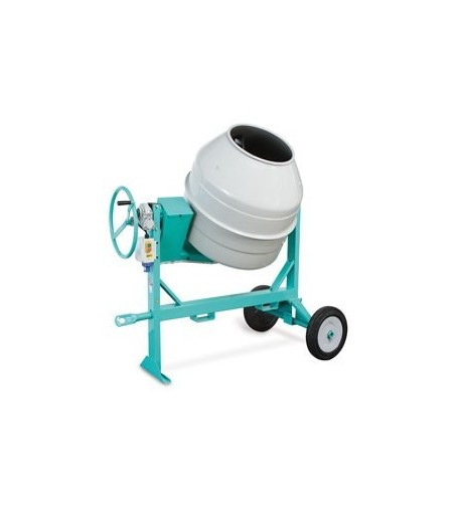 Bétonnière électrique syntesi S190, 190 litres non tractable IMER