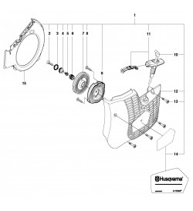 Pièces détachées découpeuse portative Husqvarna K760