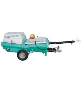 Pompe à mortier monophasé step 120, 120 litres IMER