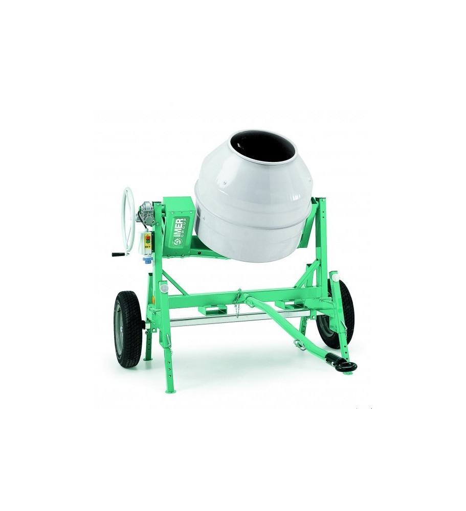 Bétonnière électrique imer tractable syntesi S350R, 345 litres IMER