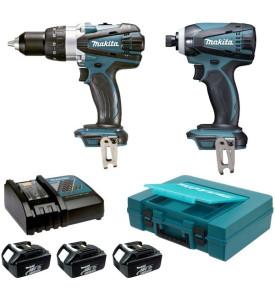 Ensemble de 2 machines DK1899x1 sans fil MAKITA