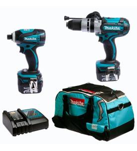 Ensemble de 2 machines 14.4 V, DK1464 sans fil MAKITA
