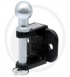 Crochet d'attelage à attache boules Système K50 fixation 2 trous