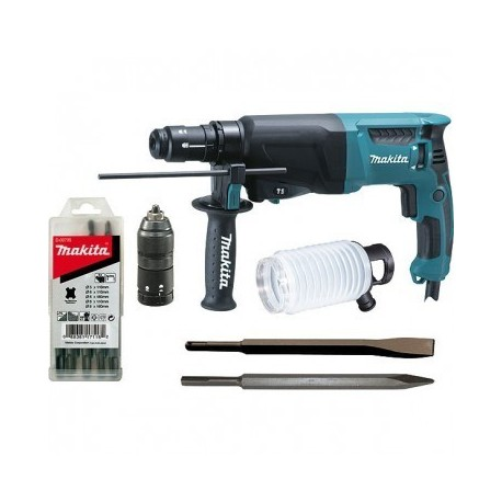 Perforateur-burineur SDS-PLUS 800 watts HR 2610T -MAKITA