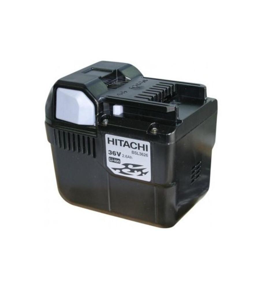 Batterie 36V 2.6Ah BSL 3626 Li-ion à glissière HITACHI