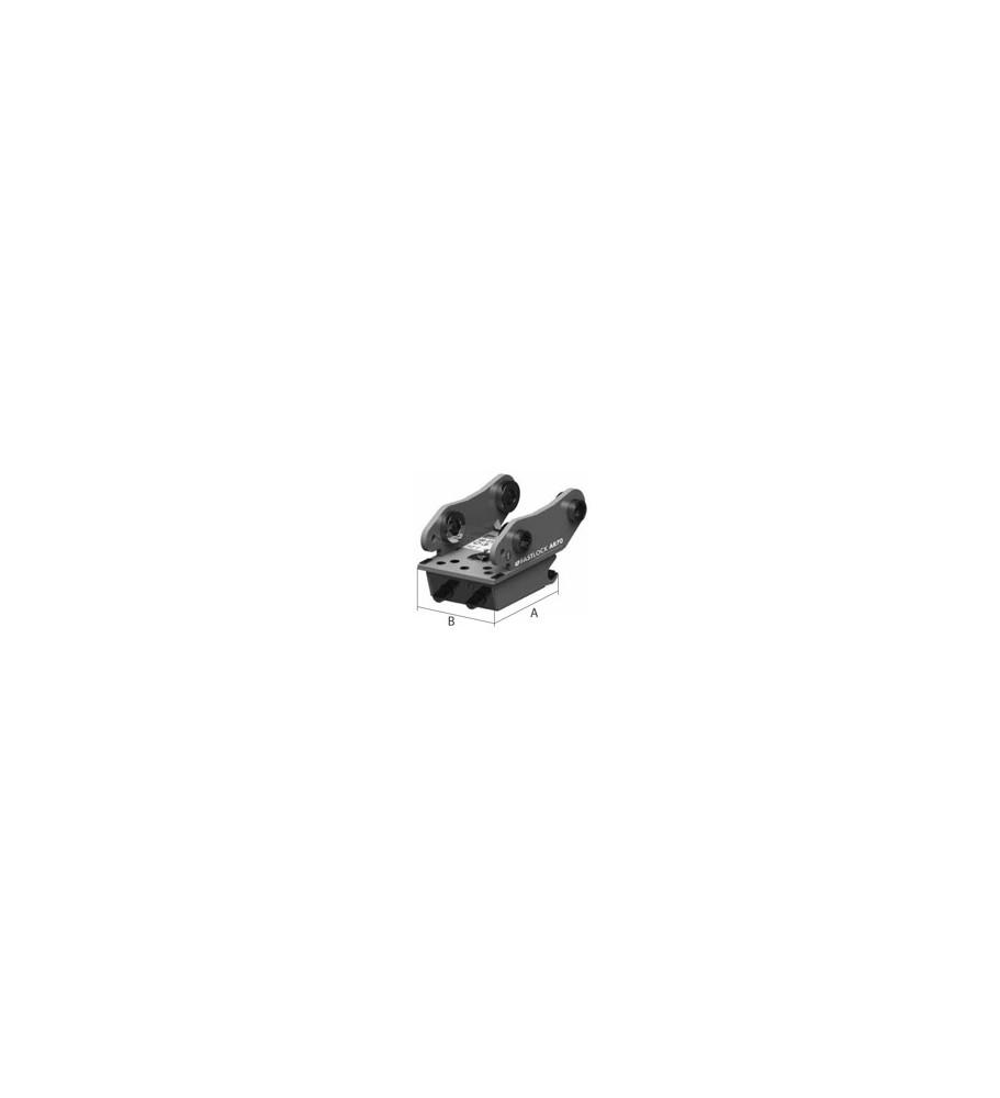 Attache rapide non réversible type AR15FL Mécanique