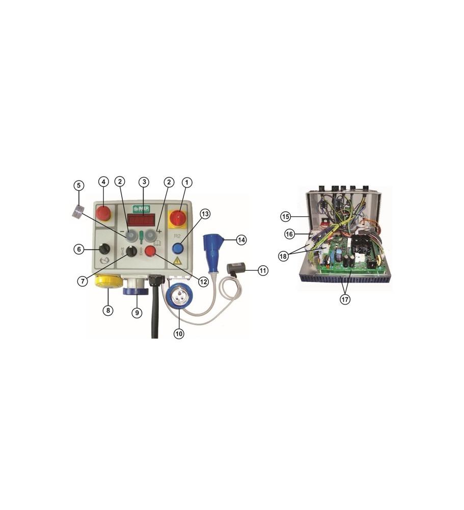 Tableau électrique small 50 IMER au détail 2008 à 2013