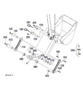Pièces détachées mini Pelle KUBOTA U25-3 ALPHA